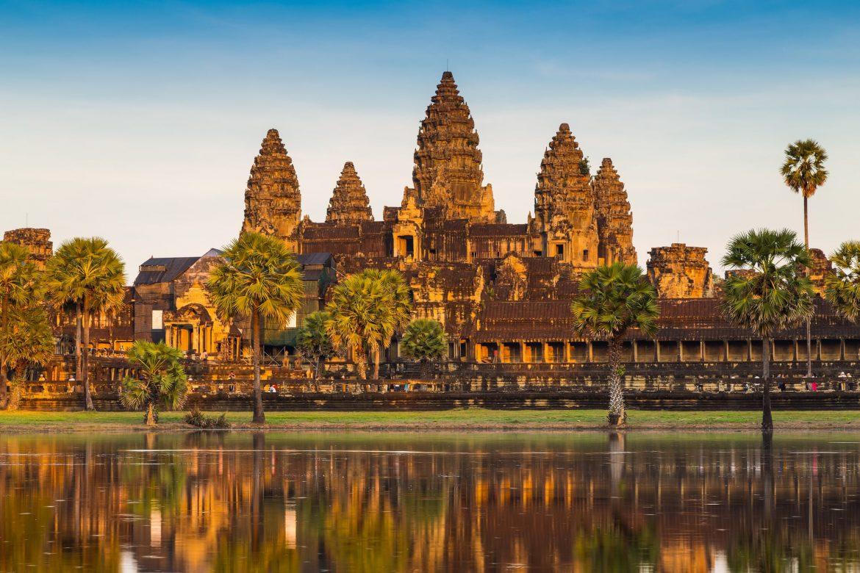 angkor wat sommer kambodscha