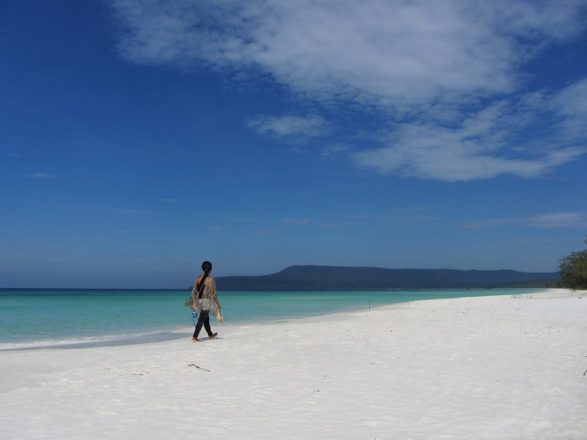 Koh Rong - top of beaches in Cambodia