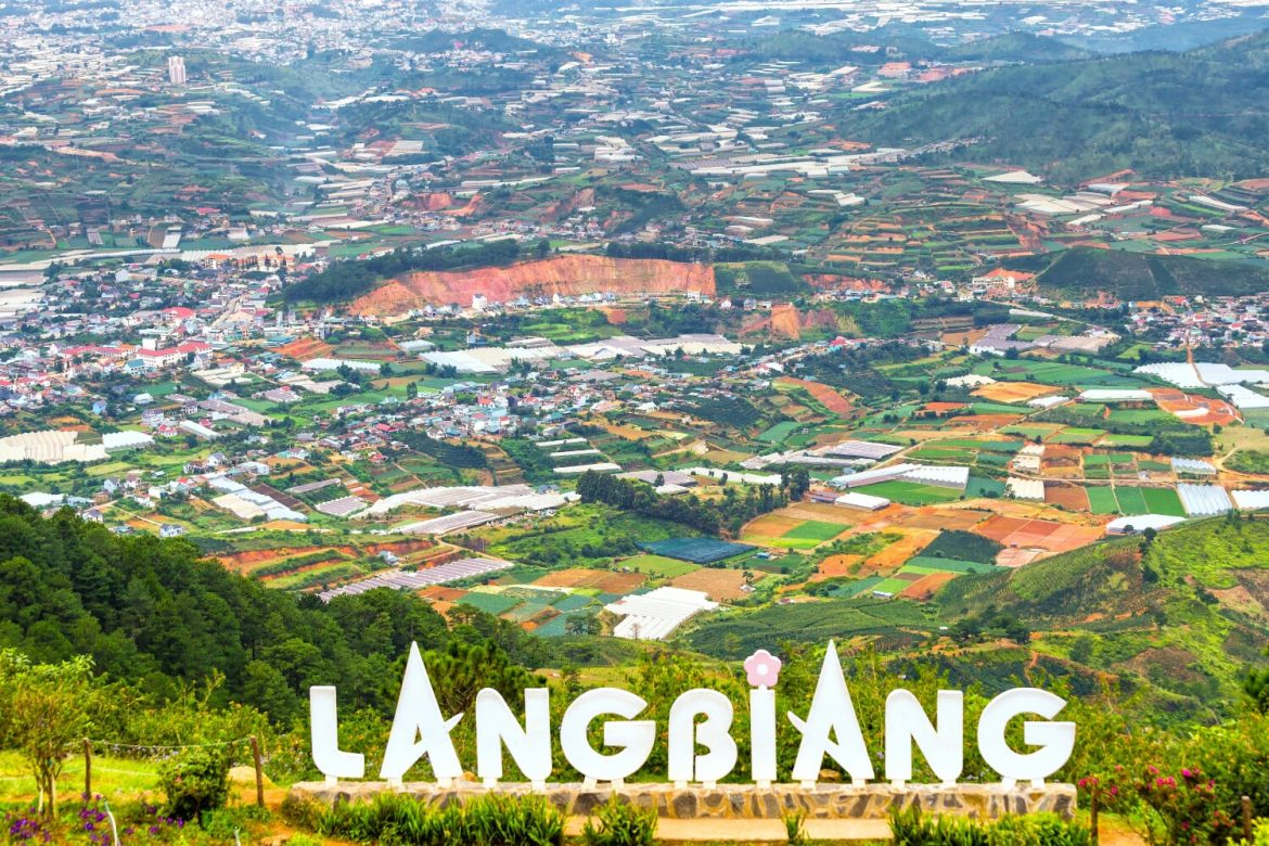 Lang Biang - one of the top mountains Vietnam Cambodia