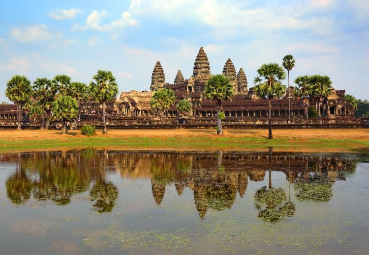 Vietnam Kambodscha Besichtigungstour - angkor wat